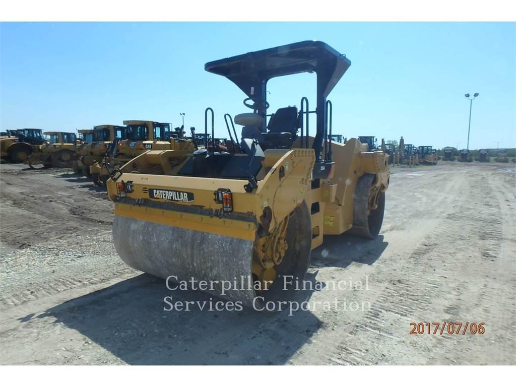 Caterpillar CB64、タンデムローラ、建設