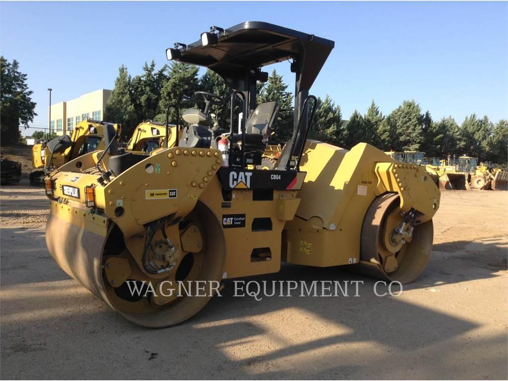 Caterpillar CB64, Compactors, Construction