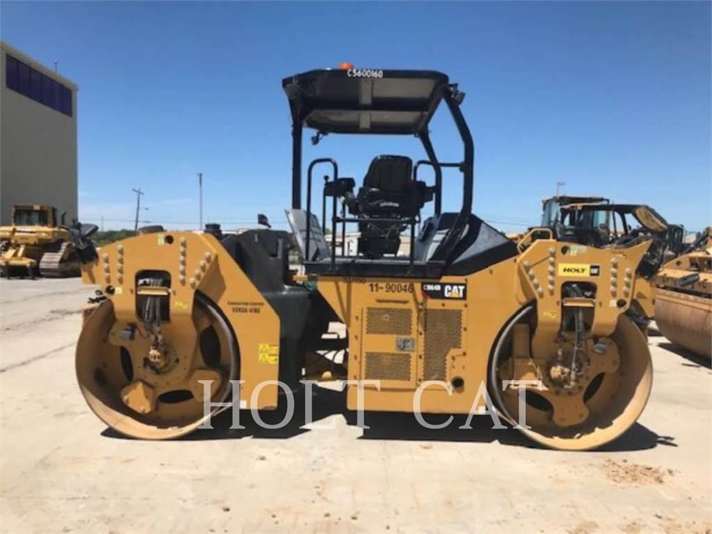 Caterpillar CB64B, Walce jednobębnowe, Sprzęt budowlany
