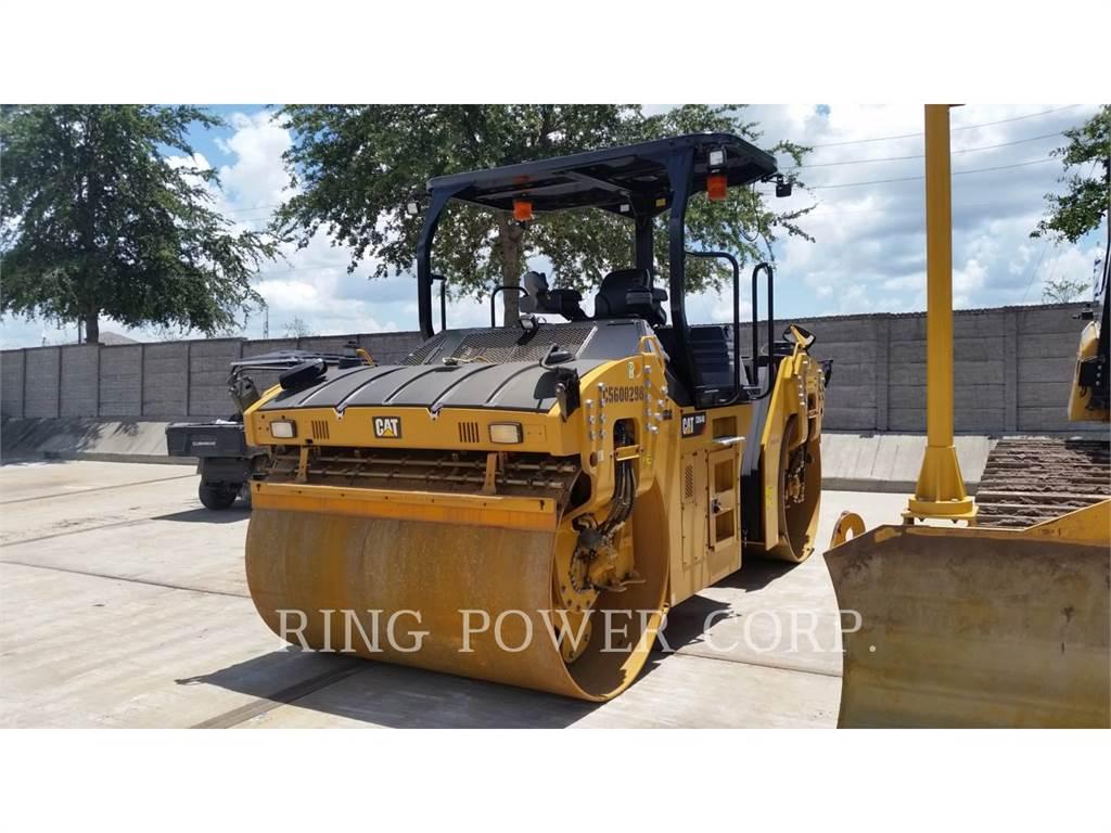 Caterpillar CB64B、双轮压路机、建筑设备