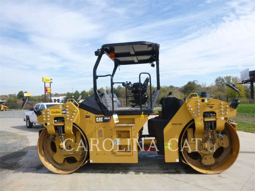 Caterpillar CB64B, Waste Compactors, Construction