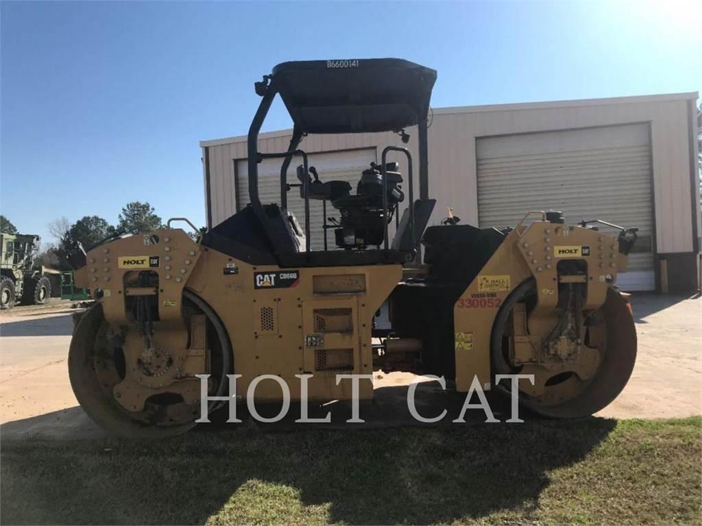 Caterpillar CB66B, Single drum rollers, Construction