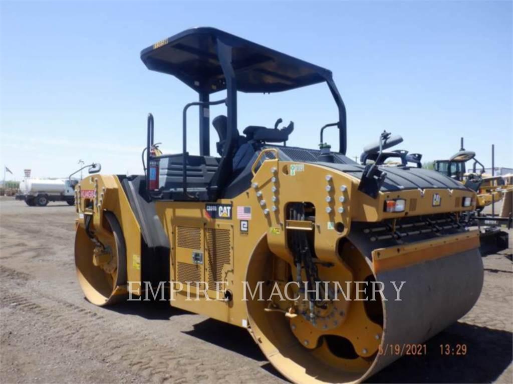 Caterpillar CB66B, Walce dwubębnowe, Sprzęt budowlany