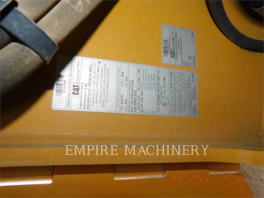 Caterpillar CB66B TR, Twin drum rollers, Construction