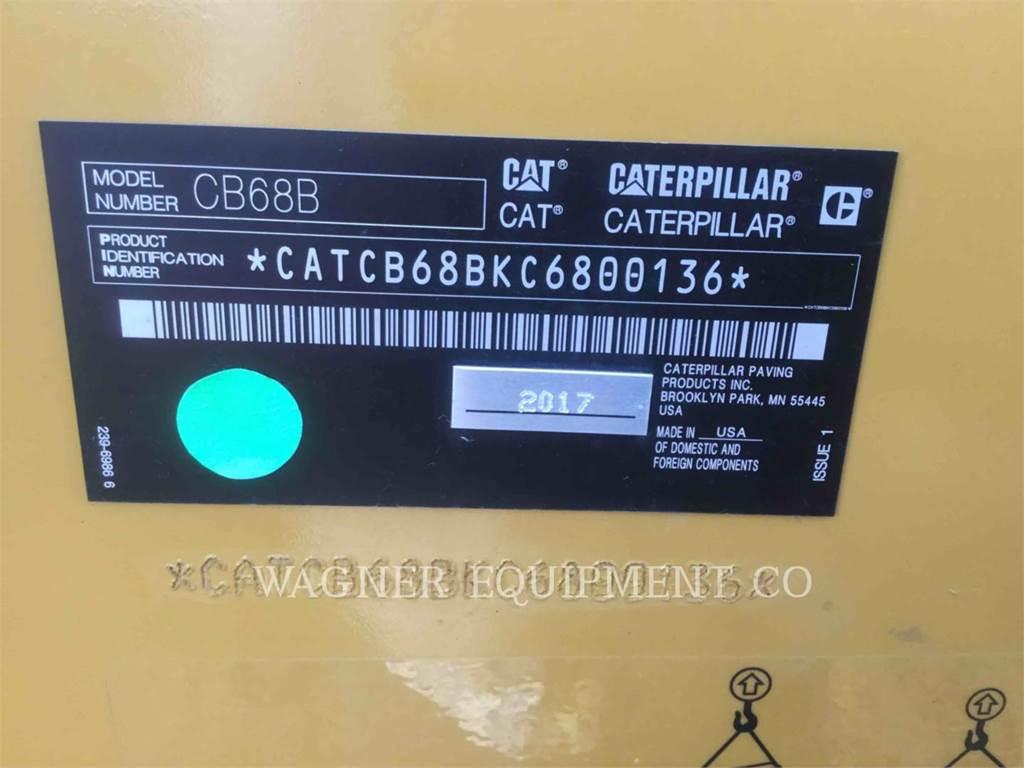 Caterpillar CB68B, Compactors, Construction