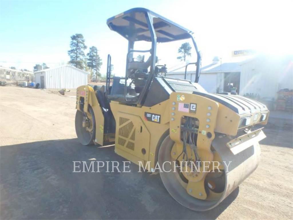 Caterpillar CB7, Rouleaux tandem, Équipement De Construction