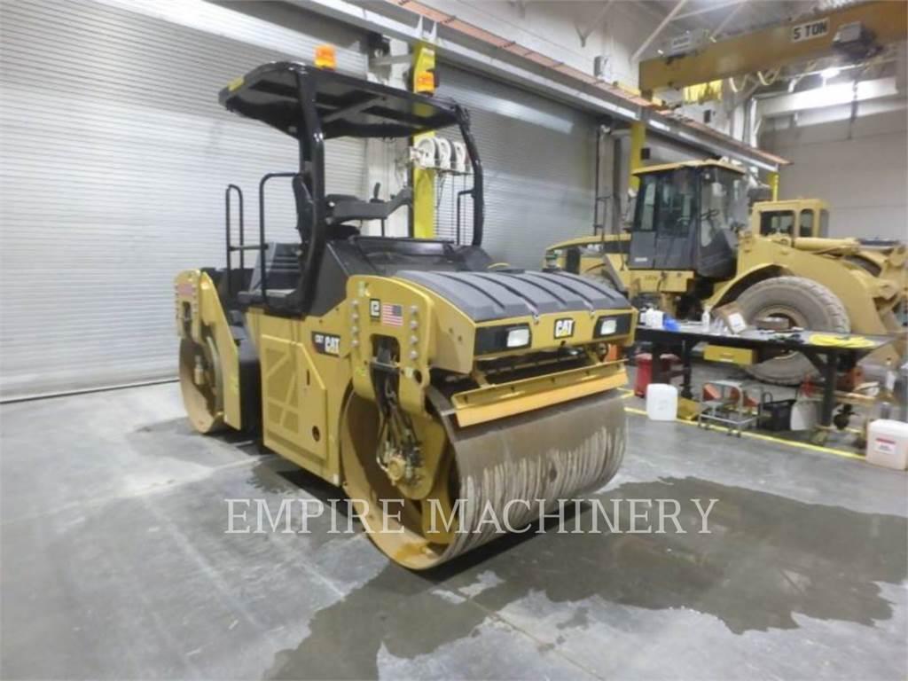 Caterpillar CB7, Cilindros Compactadores tandem, Equipamentos Construção