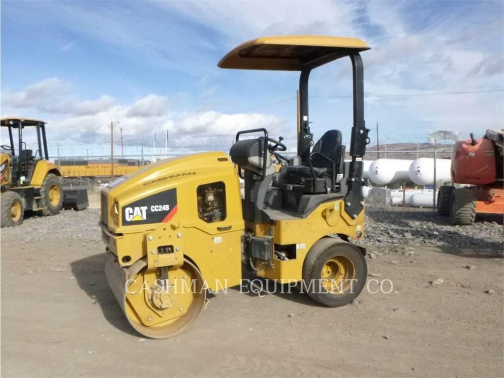 Caterpillar CC24B, Compactadores, Equipamentos Construção