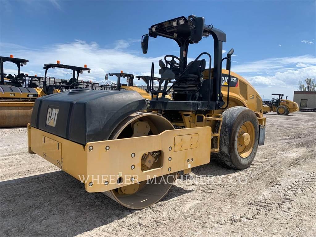 Caterpillar CCS9, Single drum rollers, Construction