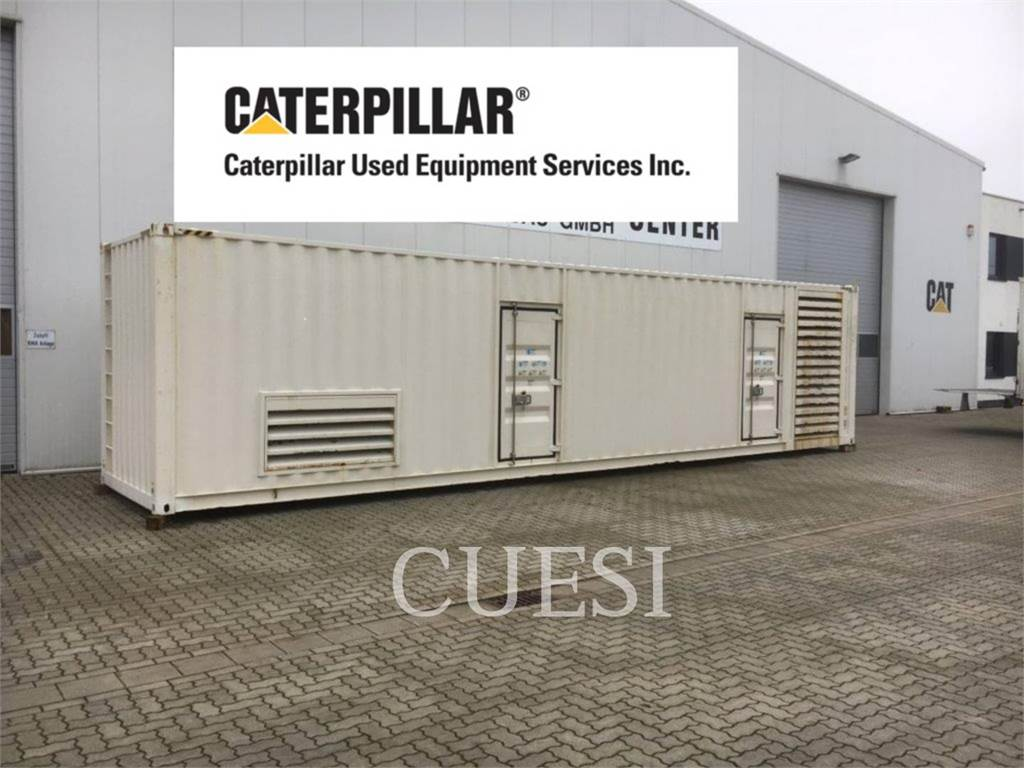 Caterpillar CONTAINER, Systems / Components, Construction
