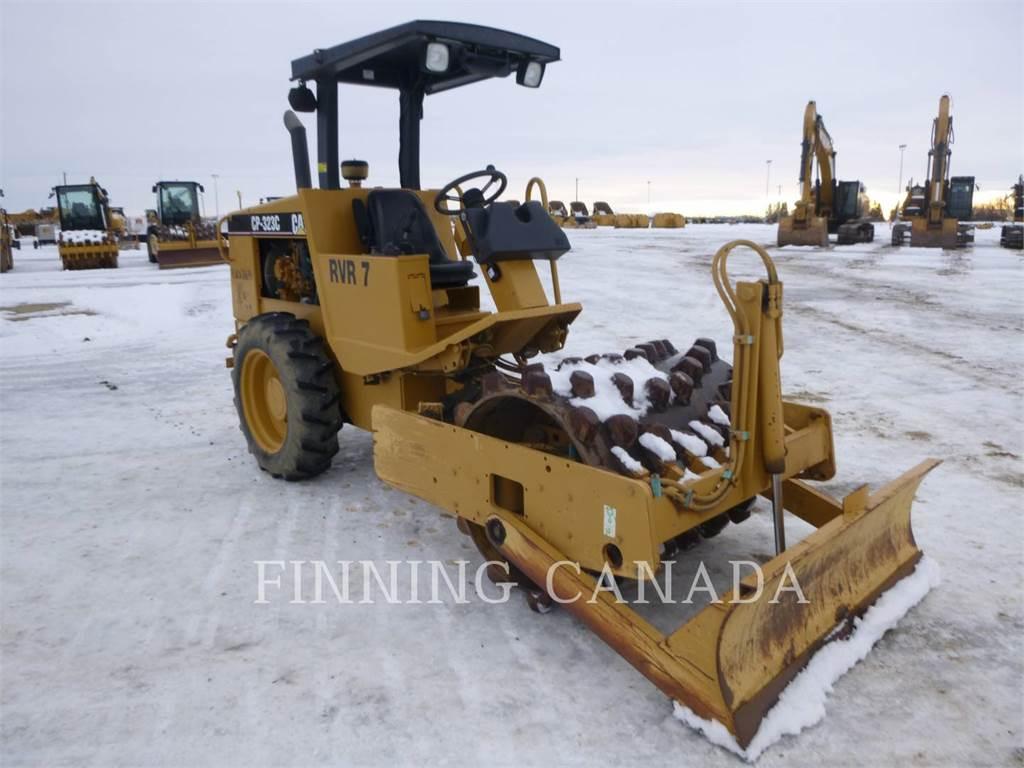 Caterpillar CP-323C, Walzenzüge, Bau-Und Bergbauausrüstung