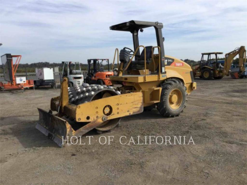 Caterpillar CP-433E, Single drum rollers, Construction