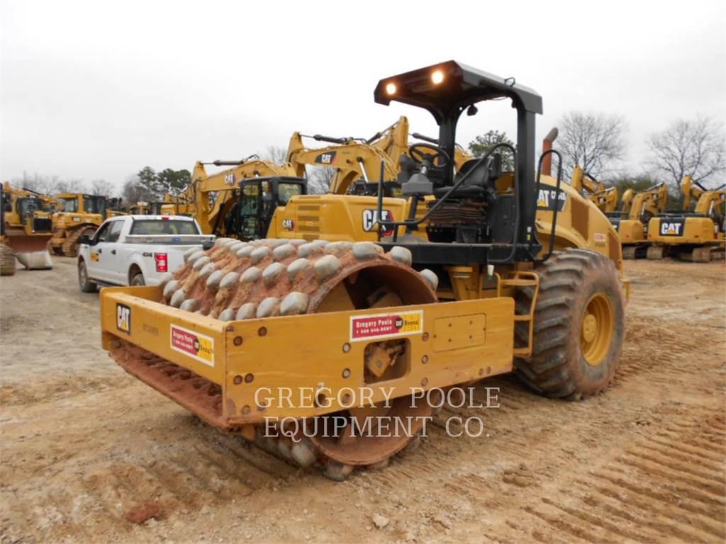 Caterpillar CP-54B, Rouleaux monocylindre, Équipement De Construction