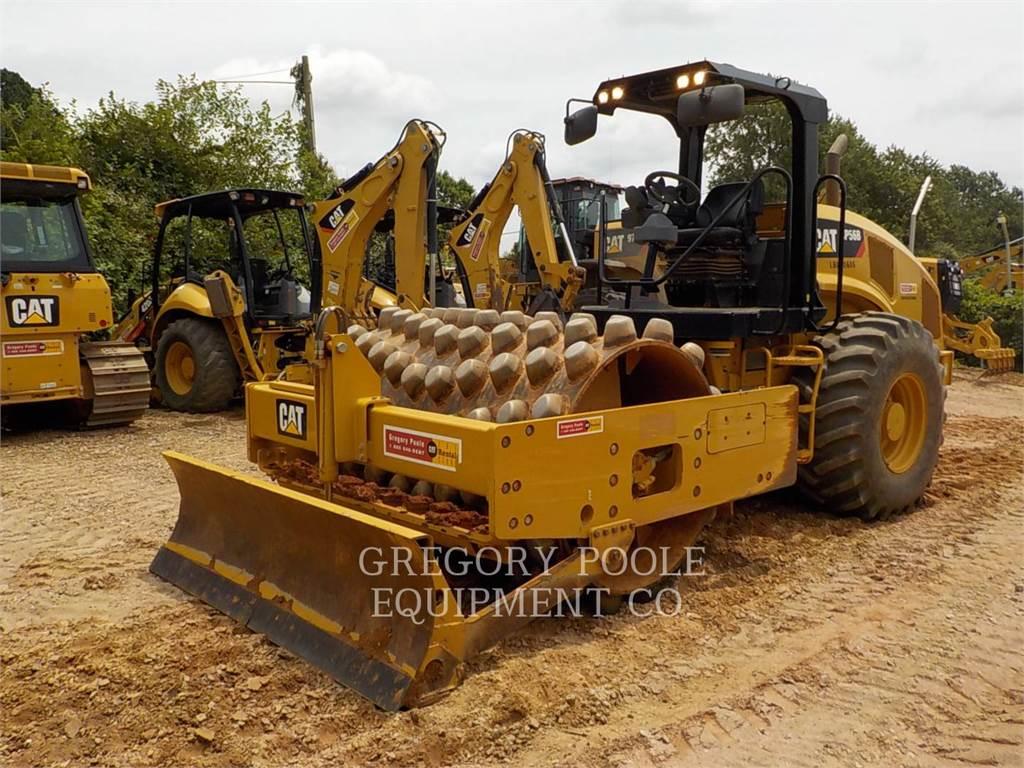 Caterpillar CP-56B, Trilrolwalsen, Bouw