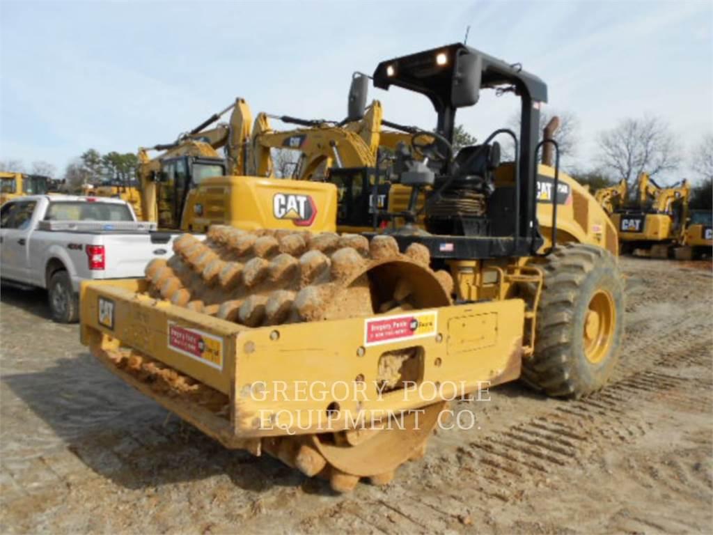 Caterpillar CP-56B, Single drum rollers, Construction