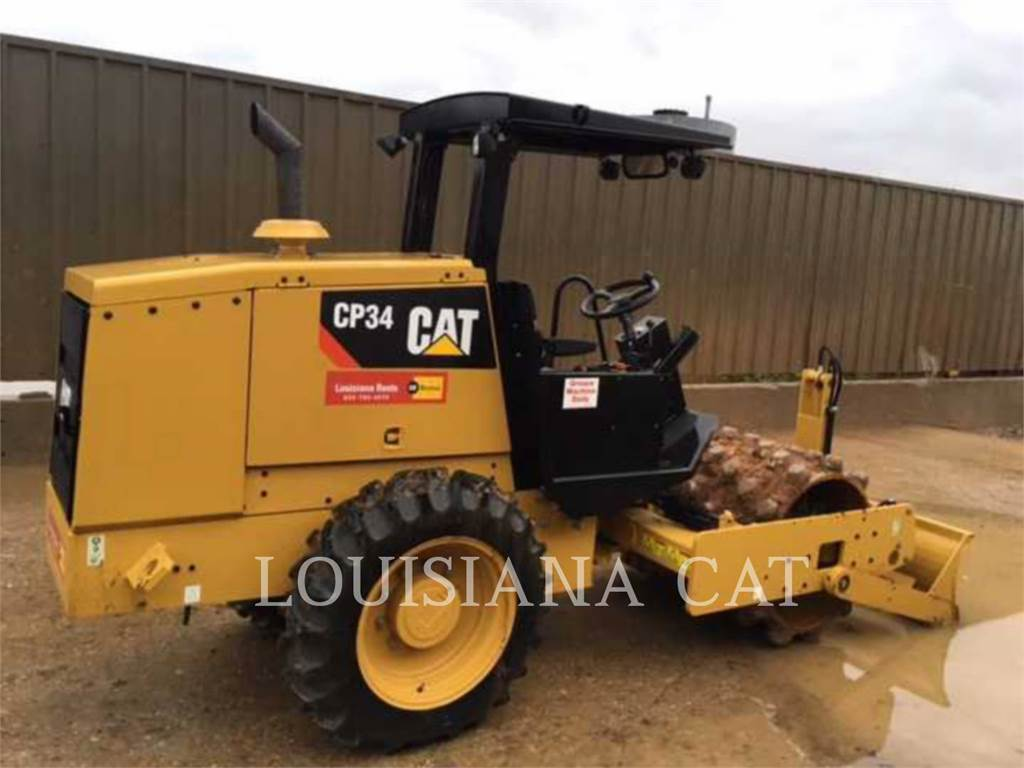 Caterpillar CP34, Compactors, Constructii