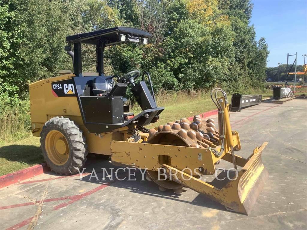 Caterpillar CP34, Compactadores, Equipamentos Construção