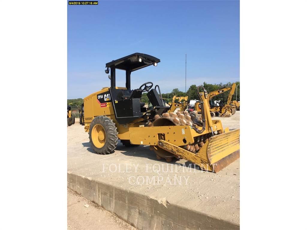 Caterpillar CP34、土壤压实机、建筑设备