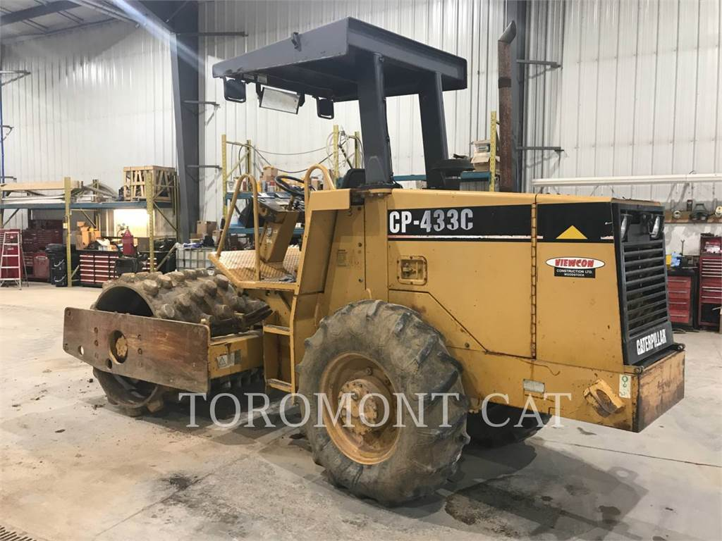 Caterpillar CP433C, Compactors, Construction