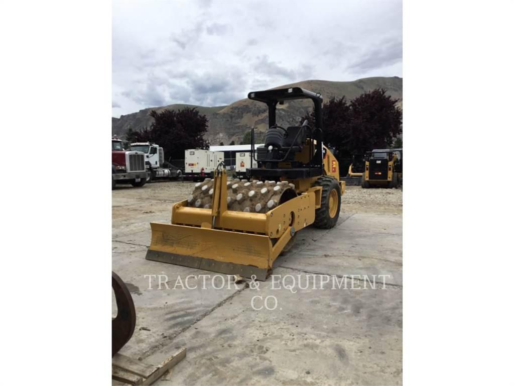 Caterpillar CP44, Pavatoare asfalt, Constructii