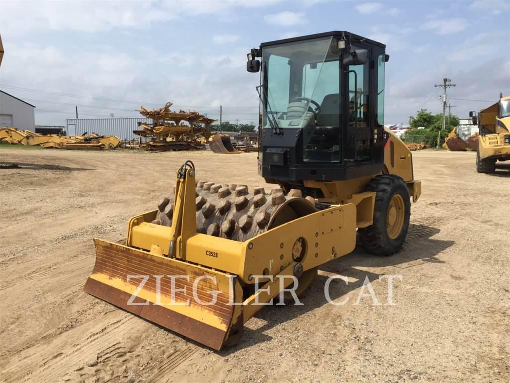 Caterpillar CP44, Compactadores, Equipamentos Construção
