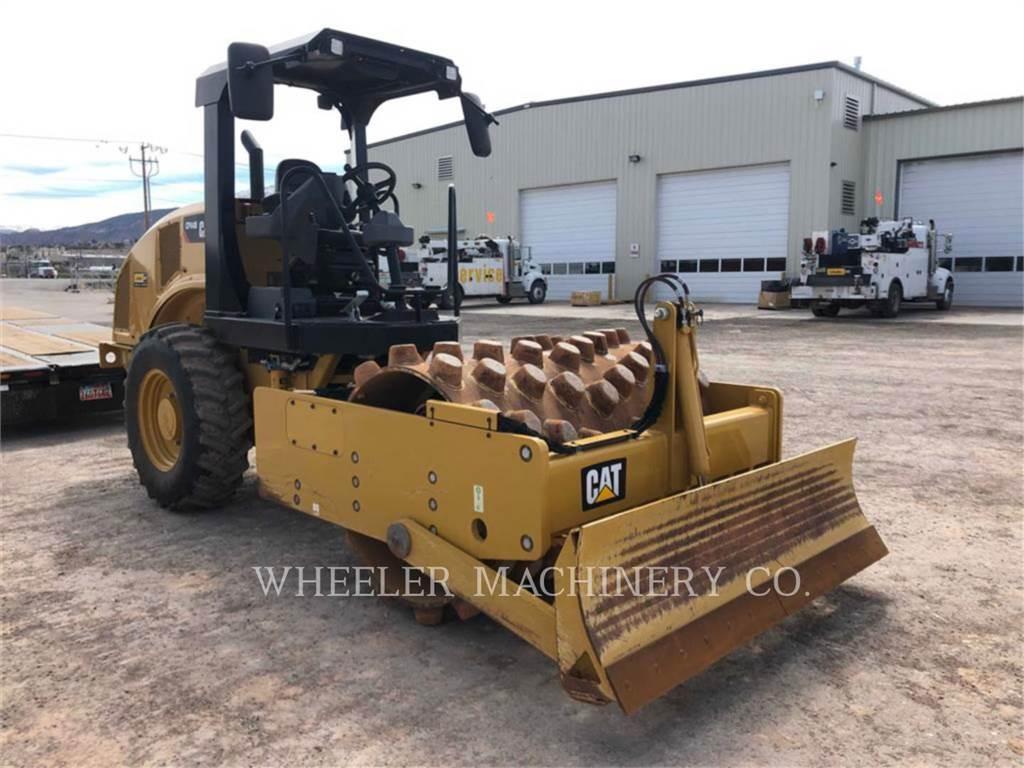 Caterpillar CP44B, Walce jednobębnowe, Sprzęt budowlany