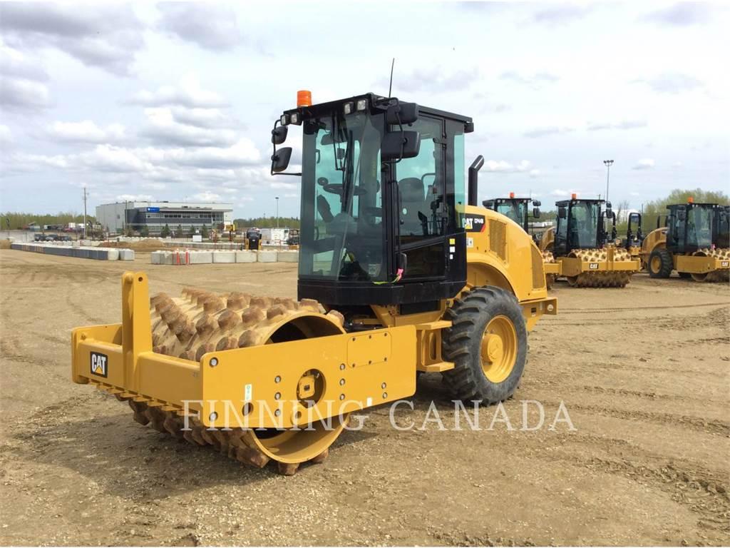 Caterpillar CP44B、单轮压路机、建筑设备
