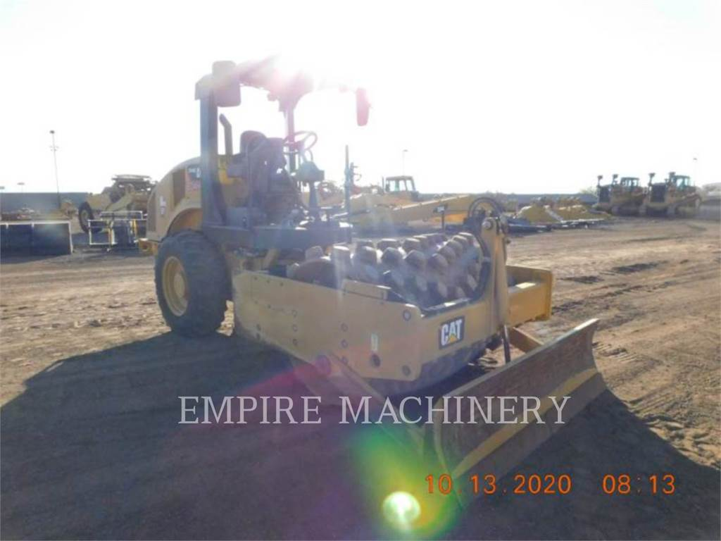 Caterpillar CP44B, Single drum rollers, Construction