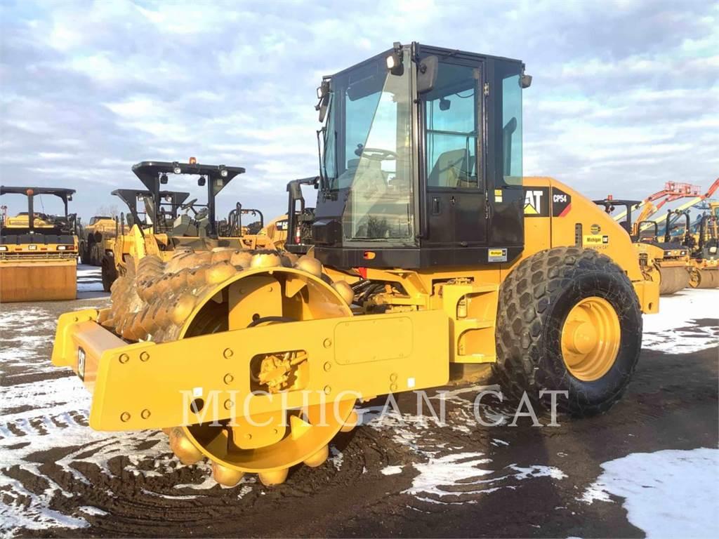 Caterpillar CP54、单轮压路机、建筑设备