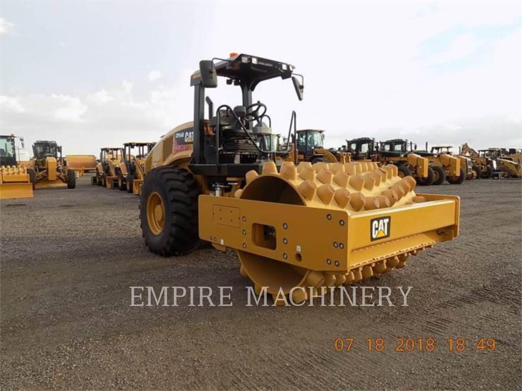 Caterpillar CP54B, Rouleaux monocylindre, Équipement De Construction