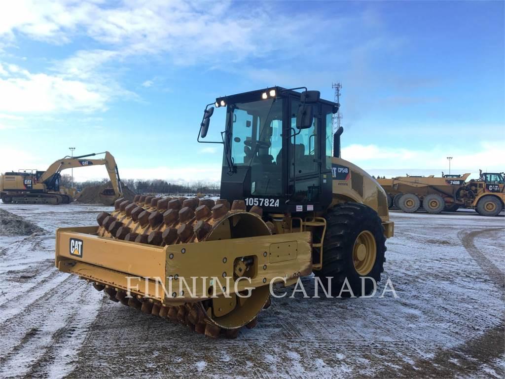 Caterpillar CP54B, Single drum rollers, Construction