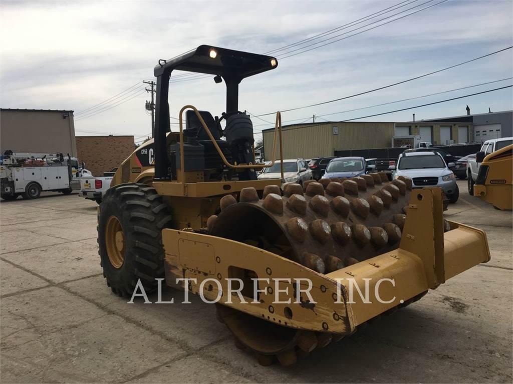 Caterpillar CP56 OPEN, Single drum rollers, Construction