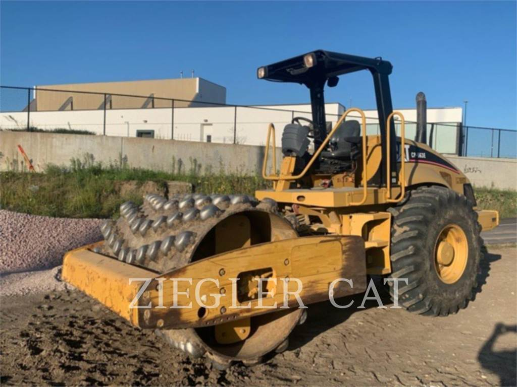 Caterpillar CP563E, Compactors, Construction