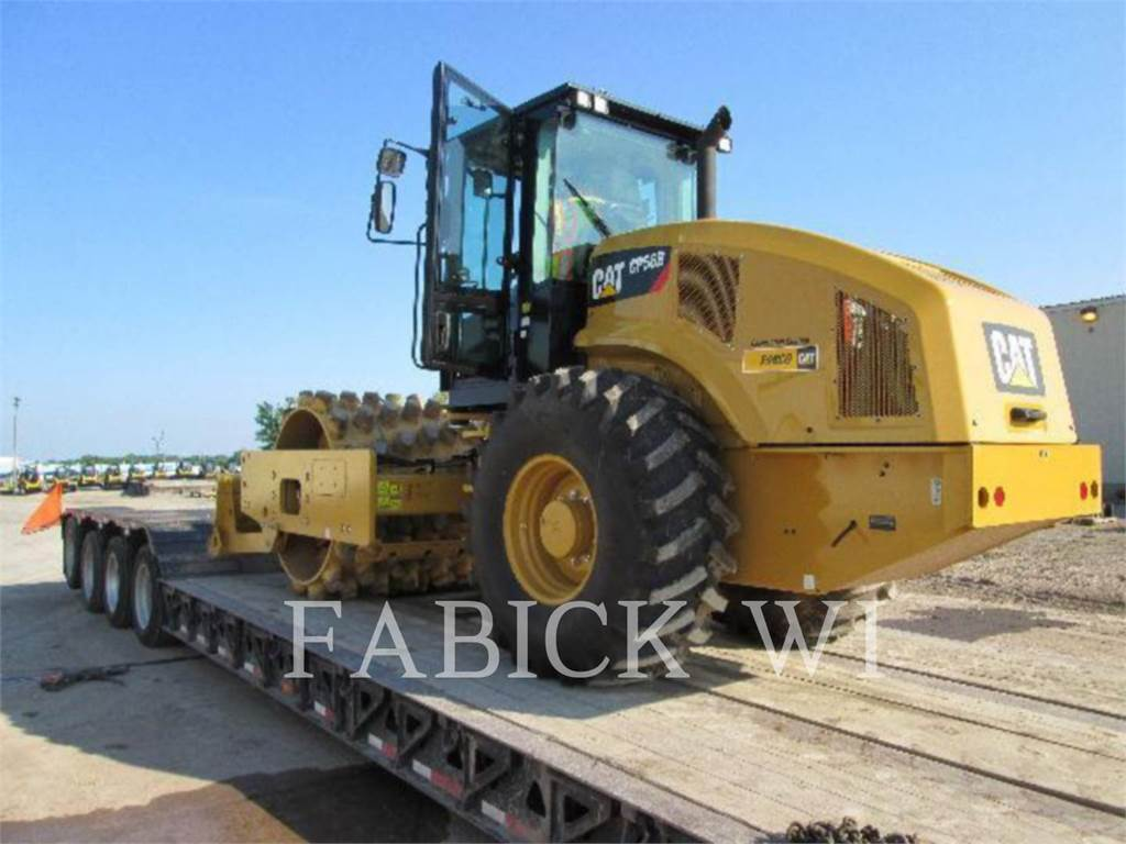 Caterpillar CP56B, Waste Compactors, Construction