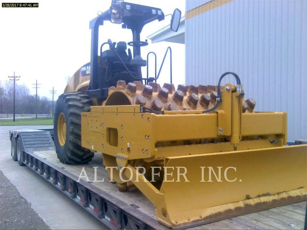 Caterpillar CP56B, Compactoare monocilindrice, Constructii