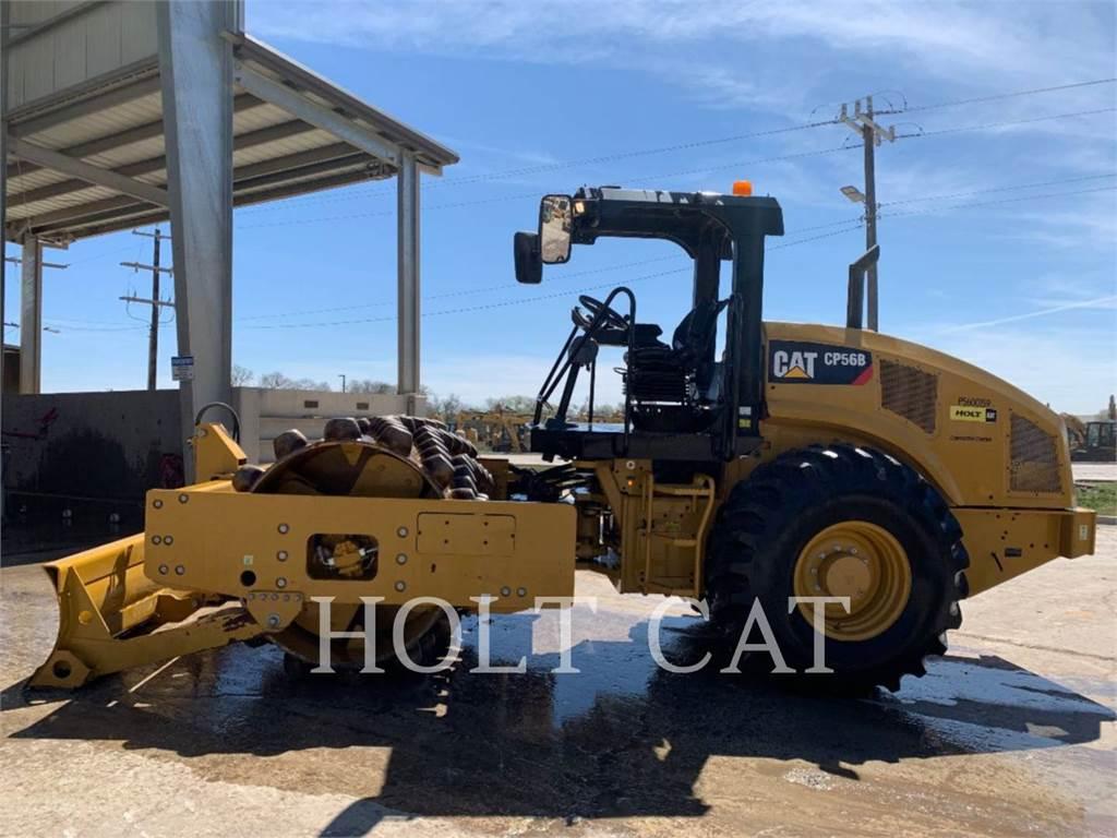 Caterpillar CP56B、单轮压路机、建筑设备
