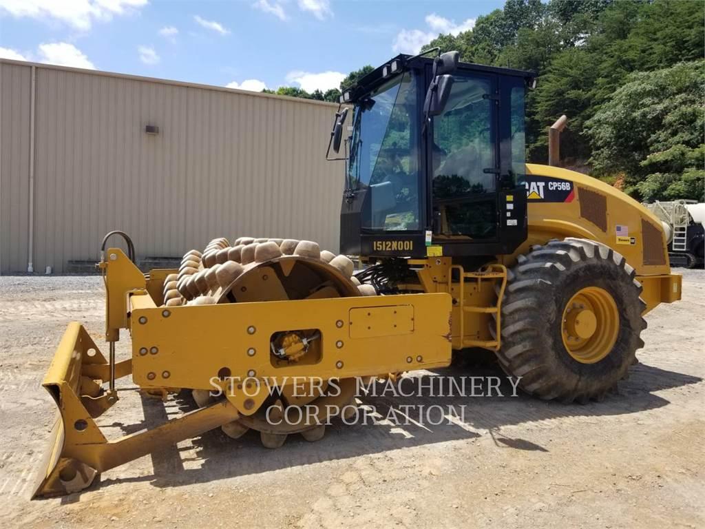 Caterpillar CP56B、土壤压实机、建筑设备