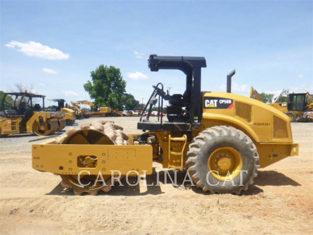 Caterpillar CP56B, Twin drum rollers, Construction