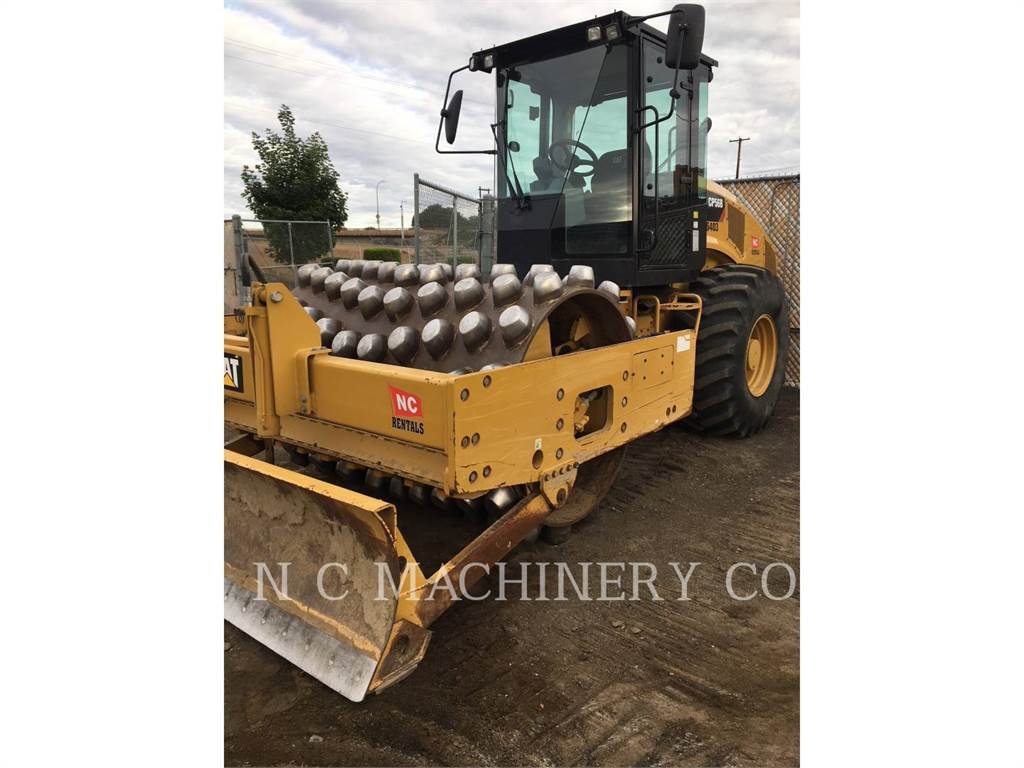 Caterpillar CP56B, Single drum rollers, Construction