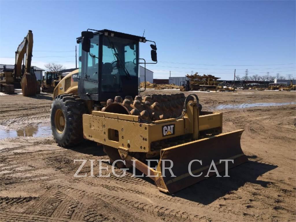 Caterpillar CP56B, Compactadores, Equipamentos Construção