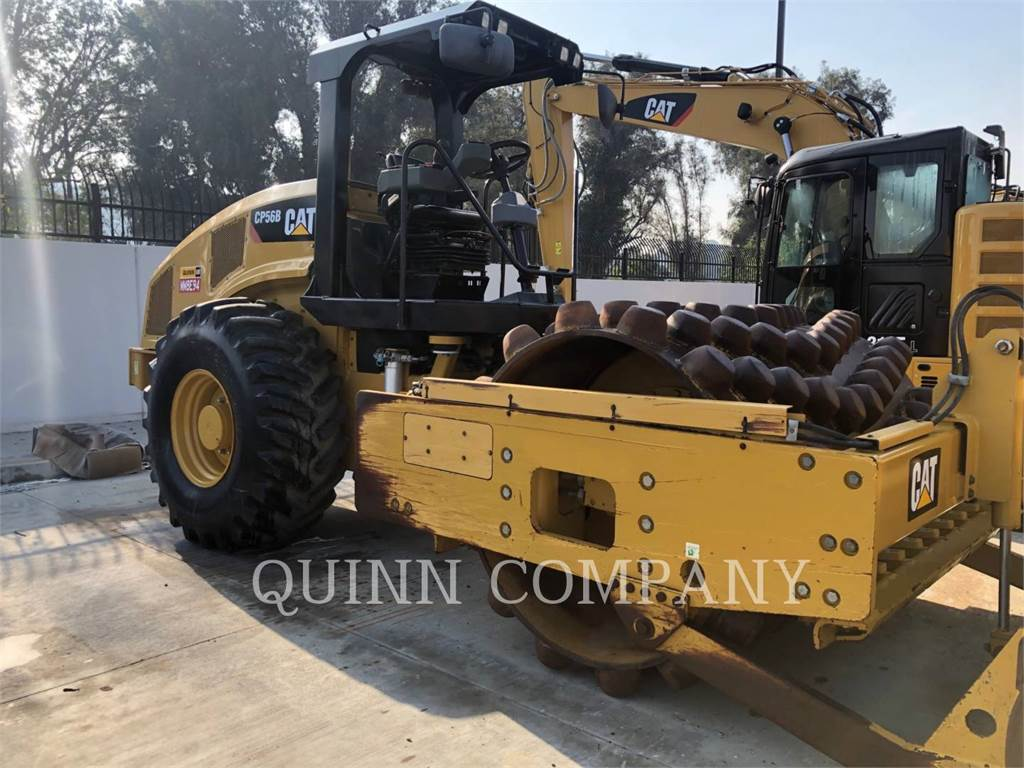 Caterpillar CP56B, Cilindros Compactadores monocilíndricos, Equipamentos Construção