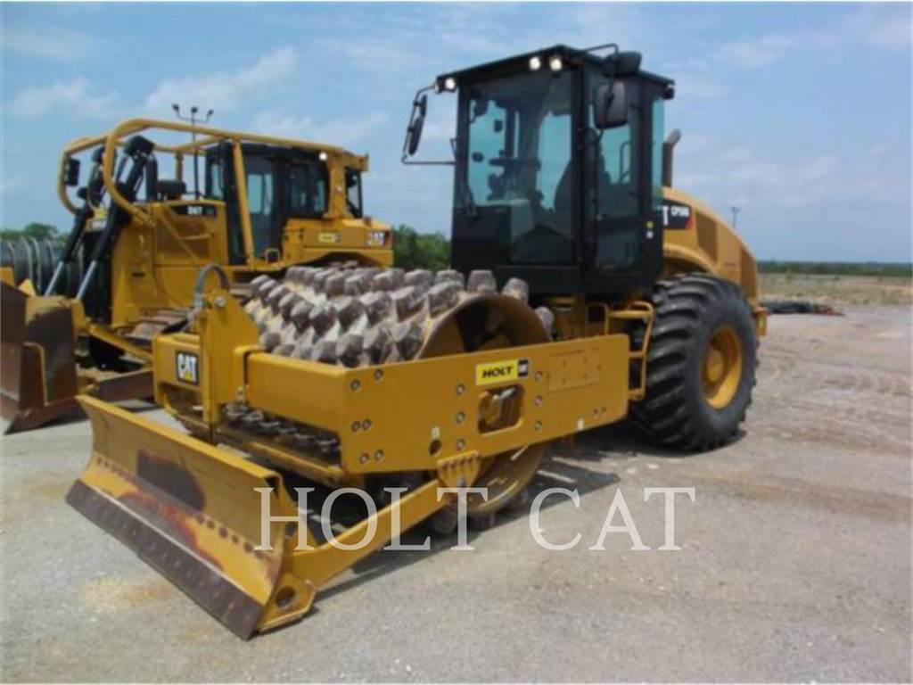 Caterpillar CP56B CAB, Walce jednobębnowe, Sprzęt budowlany