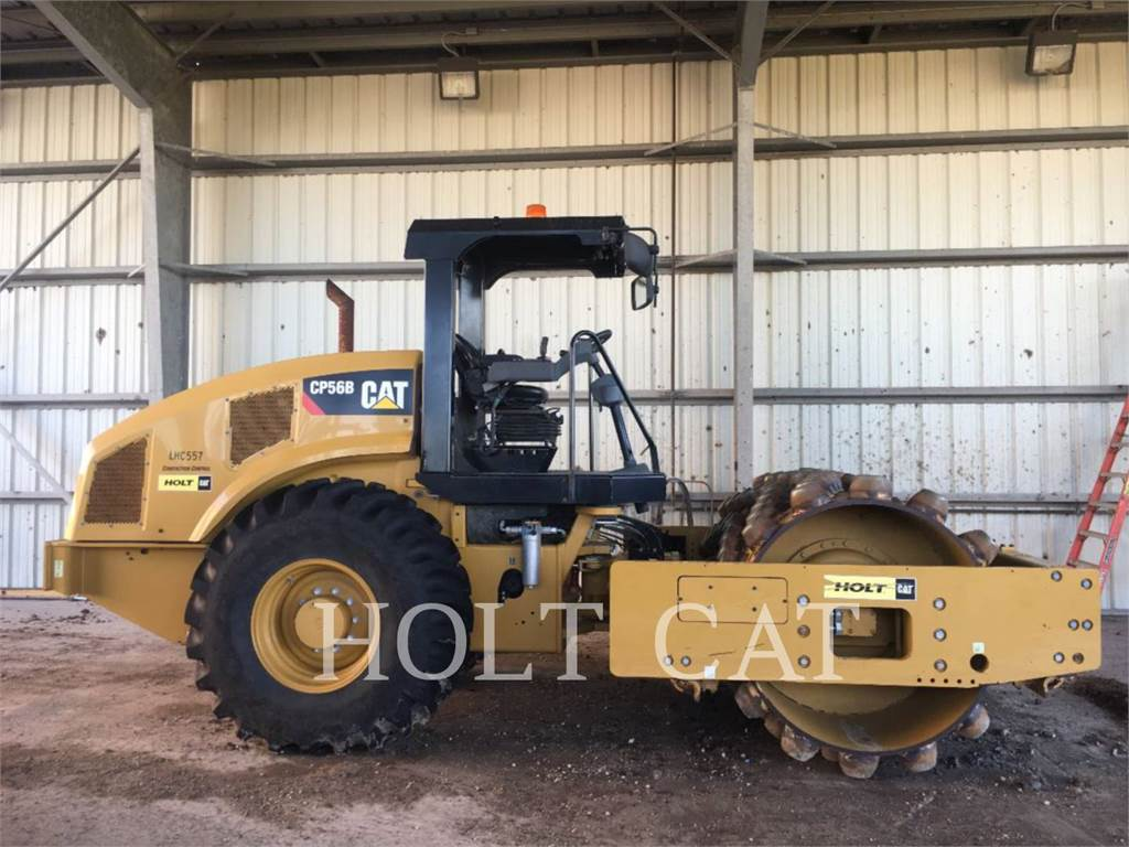 Caterpillar CP56B NOBL, Single drum rollers, Construction