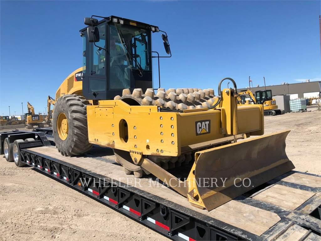 Caterpillar CP74B, Single drum rollers, Construction