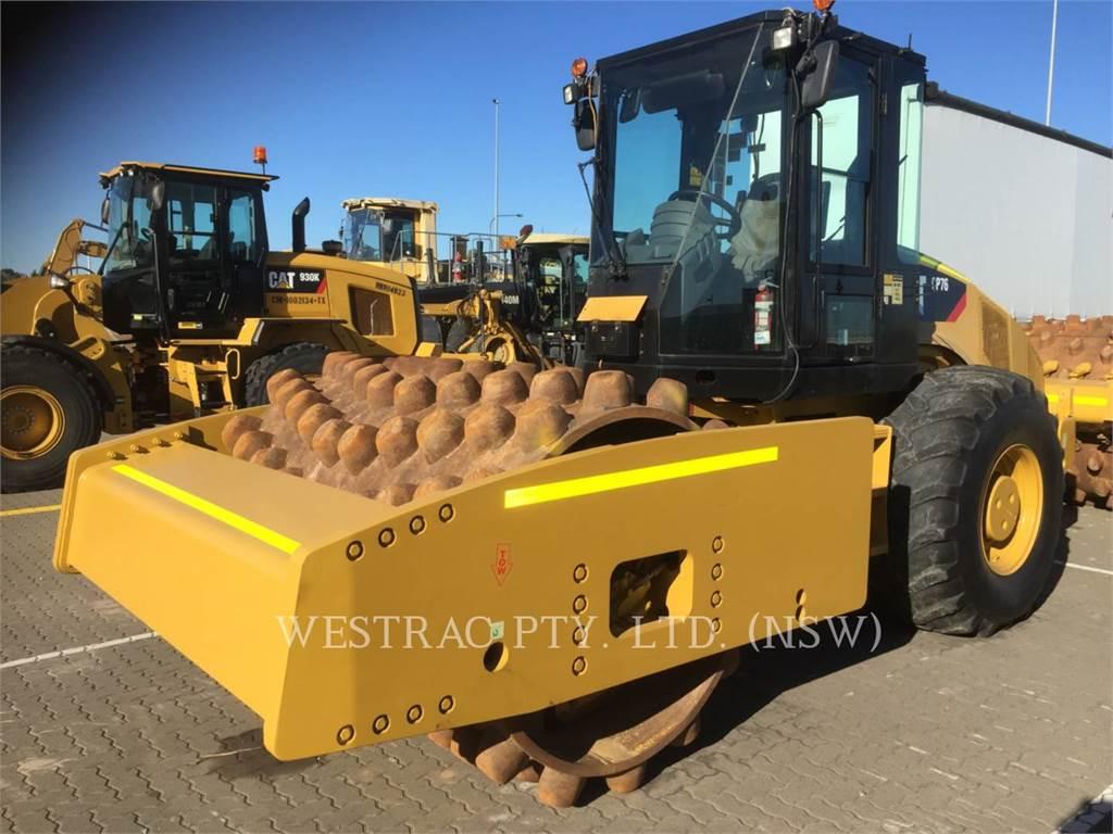 Caterpillar CP76、单轮压路机、建筑设备