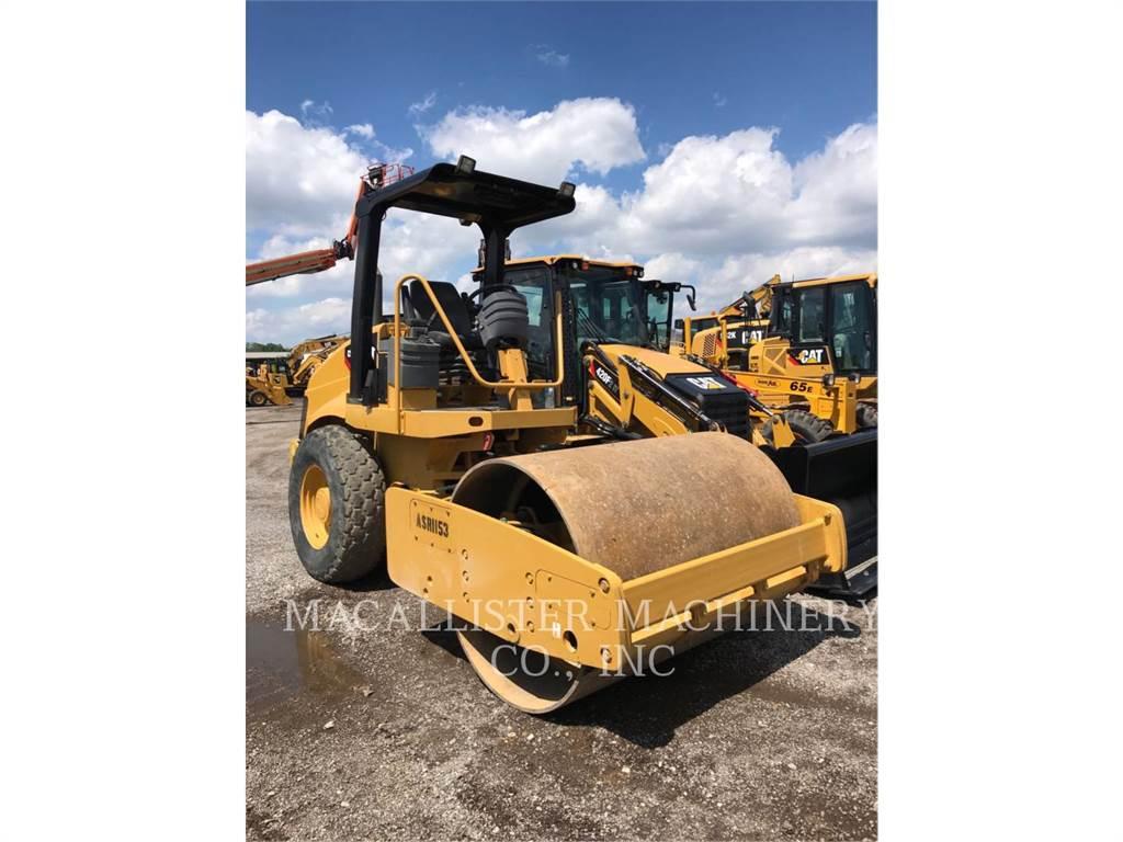 Caterpillar CS-433E, Single drum rollers, Construction