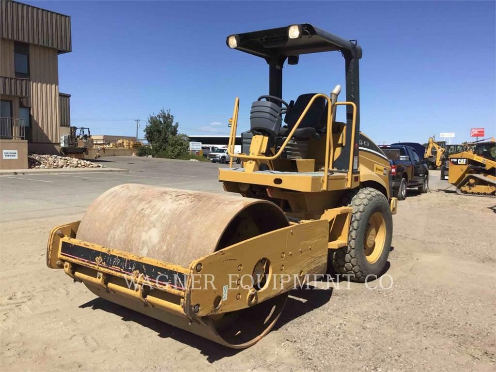 Caterpillar CS-433E, Compactors, Construction
