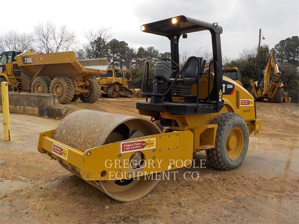Caterpillar CS-44, Walzenzüge, Bau-Und Bergbauausrüstung
