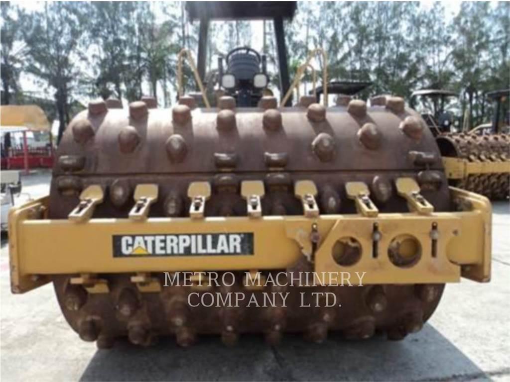 Caterpillar CS-533E, Walce jednobębnowe, Sprzęt budowlany