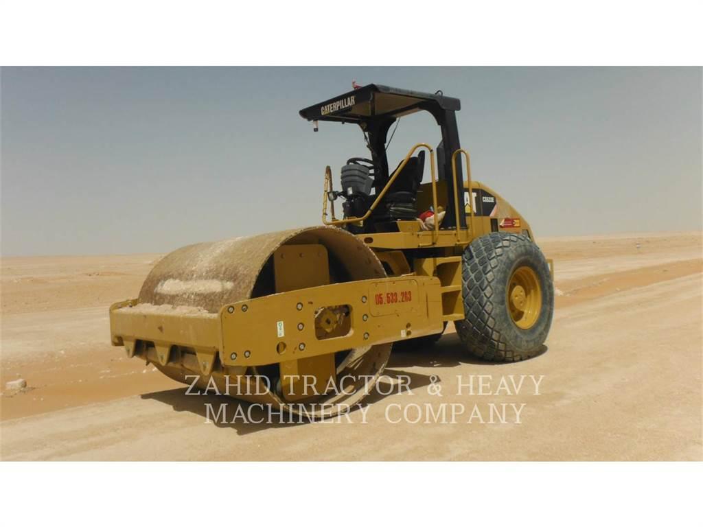 Caterpillar CS-533E、单轮压路机、建筑设备